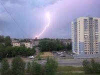На Урале объявлено экстренное предупреждение: ожидаются грозы, сильные дожди и шквалистый ветер