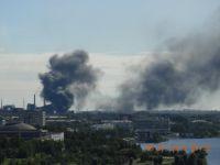 На Коксохимическом производстве ЕВРАЗ НТМК очередное происшествие: горел Смолопекококсовой цех (фото)