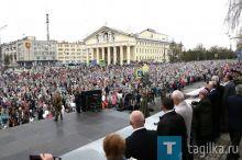 «Бессмертный полк» и «Бессмертный цех» вышли на парад Победы в Нижнем Тагиле. Фотоотчет