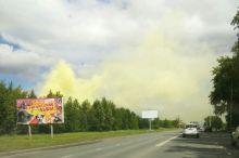 «Чернобыль 2.0»: с ЕВРАЗ НТМК заметили выбросы ядовито-жёлтого цвета, тагильчане жалуются на кашель и першение в горле (фото)