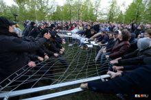 Забор демонтируют, строительство храма остановлено: что происходит в Екатеринбурге после вмешательства Путина