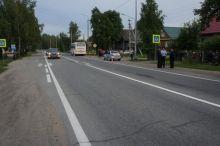 Под Нижним Тагилом рейсовый автобус сбил пешехода на «зебре» (фото)