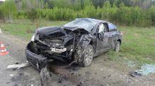 В лобовом столкновении автомобилей под Нижним Тагилом пострадал ребёнок