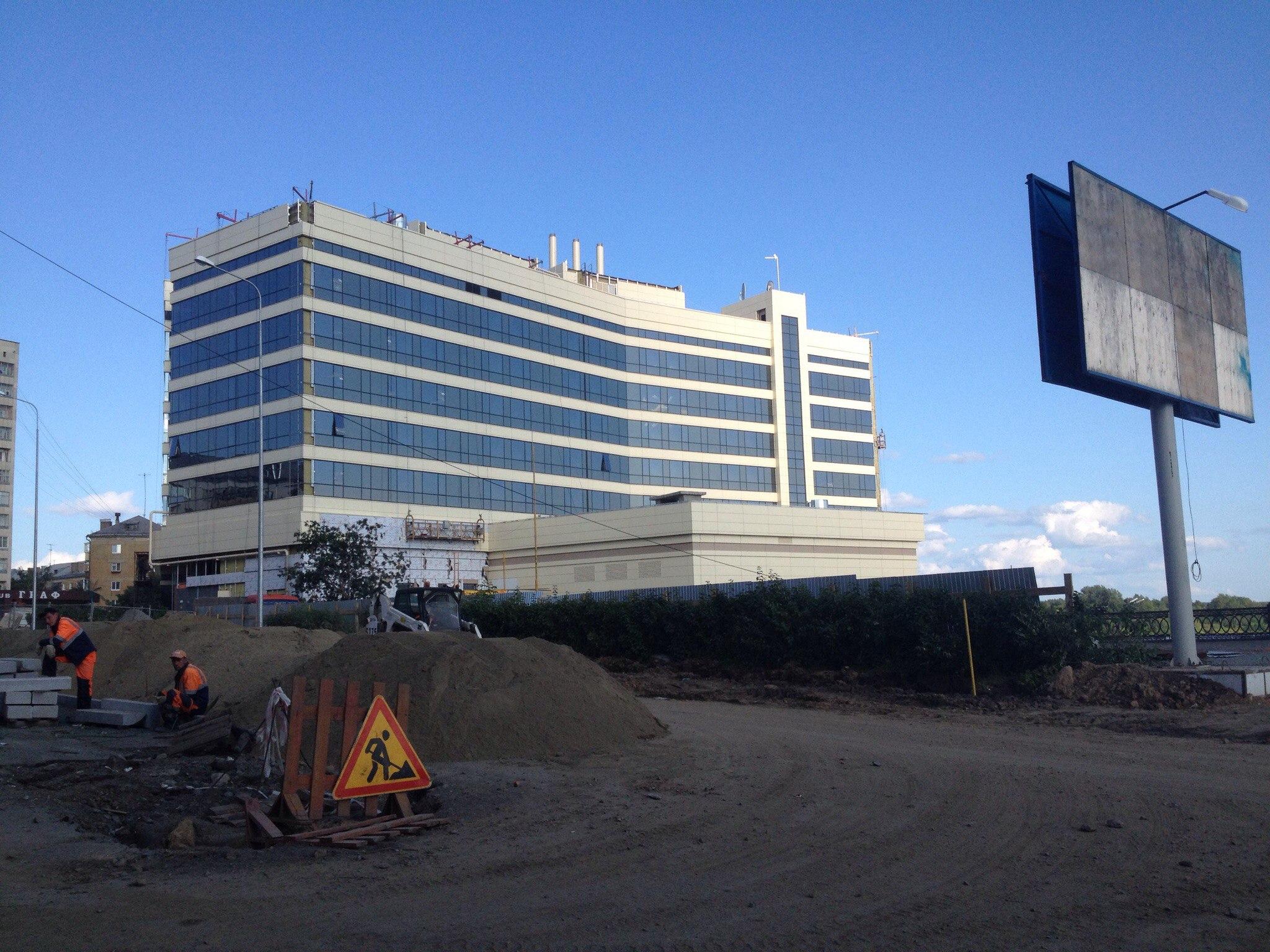 Новый отель Park Inn в Нижнем Тагиле почти готов
