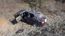 В результате ДТП на Серовской трассе 4 человека пострадали в машине, управляемой водителем без прав (фото)