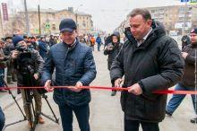 «Салют не запланирован?» Сегодня торжественно открыли улицы Космонавтов и Быкова после капремонта (фото)