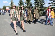 Симпатично, но масштаб подкачал: Нижний Тагил отметил День танкиста. Фотоотчет