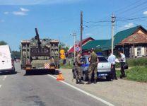 Суровые тагильские гаишники: сотрудники ГИБДД остановили танк для проверки документов (фото)