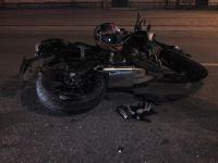 В центре Нижнего Тагила женщина на Renault Duster зацепила молодого мотоциклиста (фото)