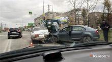 В Нижнем Тагиле в массовой аварии пострадали два человека (фото)