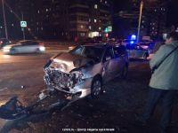 В аварии на Гальянке пострадала женщина, из автомобиля ее пришлось извлекать спасателям (фото) - обновлено