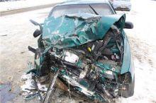 Женщина-пассажир погибла в аварии на трассе под Нижним Тагилом (фото)