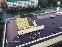 Сорванная крыша Драматического театра в Нижнем Тагиле показала качество работ по его ремонту несколько лет назад (фото)