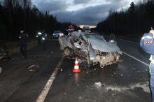 В страшном ДТП на Серовском тракте погибли четыре человека (фото)