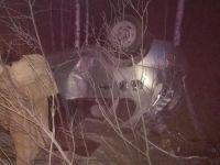 ДТП с опрокидыванием на Салдинской трассе: водитель госпитализирован в состоянии комы (фото)