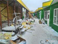 На Привокзальном рынке демонтируют два торговых ряда (фото)