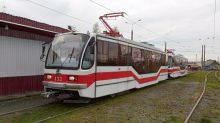 Сегодня открыли движение трамваев на Красный Камень