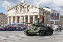Генеральная репетиция Парада Победы пройдет 4 мая