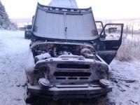 В пригороде Нижнего Тагила пьяная компания взорвала УАЗик (фото)