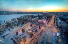Начало зимы на Урале оказалось непривычно теплым: температура превысила норму на 4 градуса