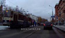 Девочку, которая вышла из трамвая, сбили на проспекте Ленина (фото)