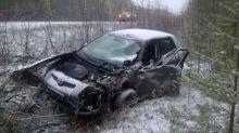 Уснувший водитель грузовика устроил смертельное ДТП на Серовском тракте с сотрудником полиции (фото)