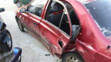 Восьмилетний ребенок пострадал при столкновении трёх легковых автомобилей на Вагонке (фото)