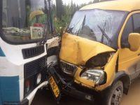 Два автобуса столкнулись из-за грязи на дороге. Стали известны подробности ДТП под Нижним Тагилом (фото)