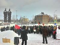 «Депутаты голосуют за все что предложат»: тагильчане вышли на митинг против «мусорной» реформы в 20-ти градусный мороз (фото)