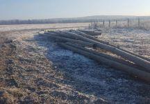Под Нижним Тагилом неизвестные выкопали и сдали на металлолом 1,5 километра труб для мелиорации (фото)