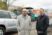 «Больше нет сомнений в том, что все будет сделано в срок». Пинаев пообещал закончить все ремонты дорог к 1 ноября (фото)