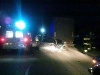 В Нижнем Тагиле Honda влетела под грузовик (фото)