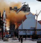 Оранжевые выбросы из новой домны НТМК объяснили тем, что она еще не достроена (фото)