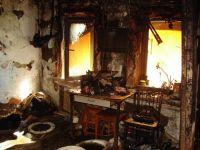 В селе Петрокаменское в пожаре погиб пожилой мужчина-инвалид (фото)