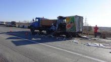 В столкновении двух грузовиков на Серовской трассе погиб человек (фото)