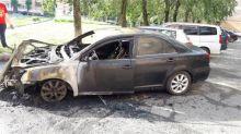 Только выиграли суд: тагильчанин подозревает в поджоге своего автомобиля «черного риэлтора» (фото)