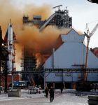 Носов говорил, что новая доменная печь № 7 НТМК является самой «чистой» в России. Появились фото как она дымит