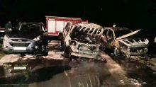 Сожгли внедорожник известного медиа-менеджера Александра Соловьёва: подробности ночного пожара на Гальянке (фото)