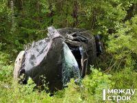 Под Нижним Тагилом в лобовом ДТП сошлись Toyota и BMW (фото)