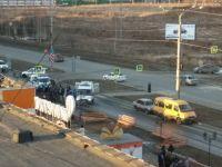 В Нижнем Тагиле на пешеходном переходе маршрутка сбила женщину (видео)