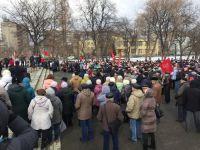 Жители Нижнего Тагила требуют отставки президента и правительства России и приостановки мусорной реформы в Свердловской области