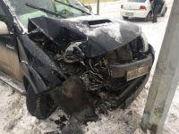 В Нижнем Тагиле водитель внедорожника избил шофера снегоуборочной машины, обвинив его в ДТП (фото)