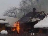 70-летний мужчина погиб при пожаре в частном доме