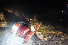 Грузовая «ГАЗель» столкнулась с мотоциклом на трассе под Нижним Тагилом