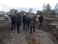 Дожди срывают сроки обустройства парка «Народный» (фото)