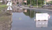 В мэрии Нижнего Тагила обещают планомерно решать проблему затопления дорог и пешеходных переходов (видео)