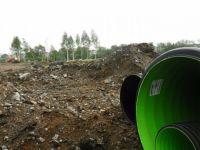 Несанкционированная свалка из бетонного мусора появилась в парке «Народный» (фото)
