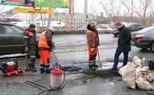 До конца марта ямы залатают на 17 дорогах Нижнего Тагила