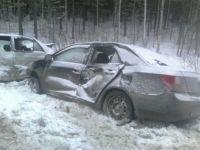 Жуткая картина из разбитых легковушек: в массовом ДТП на Серовской трассе пострадали 5 человек (фото)