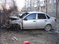 В Нижнем Тагиле снова горят автомобили (обновлено: фото)